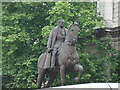 TQ3080 : Statue in Whitehall Gardens by Robert Lamb