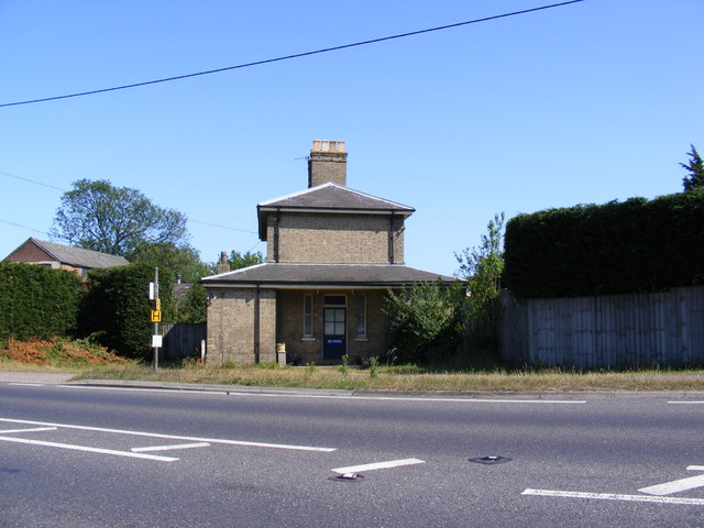 The former Marlesford Railway Station