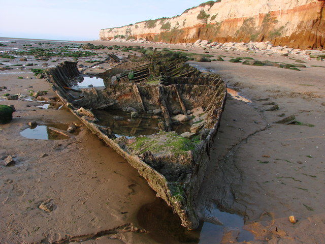 Hunstanton cliff wrecking