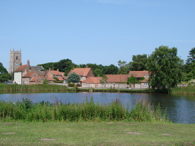 Great Massingham village pond