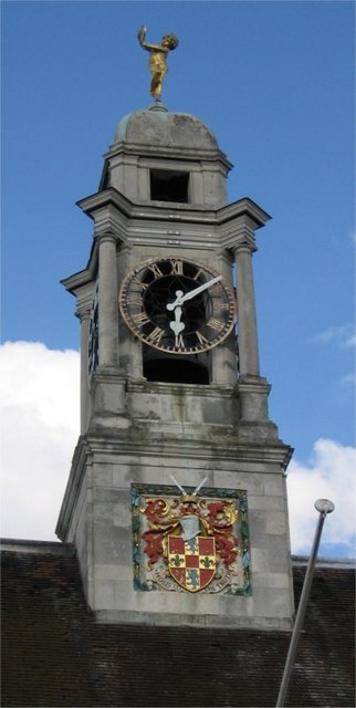 Town Hall Centre, Clock Tower, Braintree, Essex