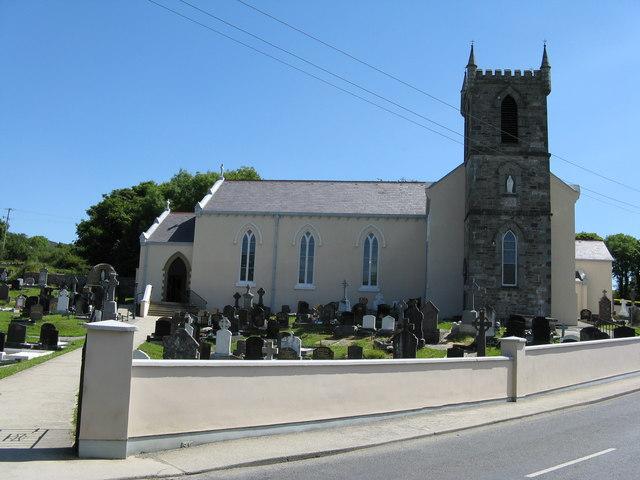 Calendar June To July : Clonmany r c church dr neil clifton cc by sa