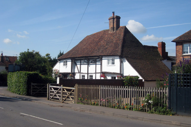 Wealden Hall House on Ashford Road, Ham Street, Kent