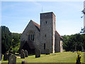 TR1044 : St Mary's Church, Hastingsleigh, Kent by Oast House Archive