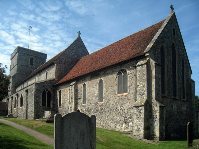St Mary The Virgin Church, Church Street, Eastry, Kent