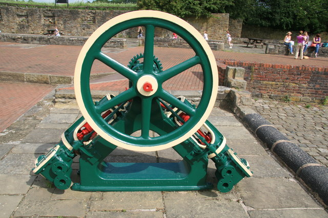 Steam engine, Burrs Country Park
