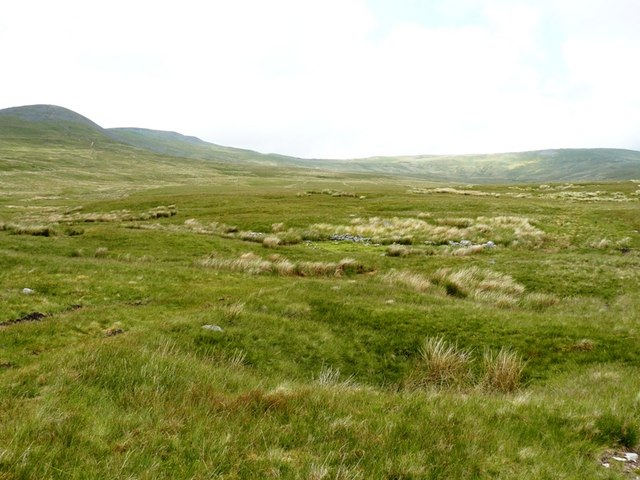 Newby Moss looking at slopes of Ingleborough