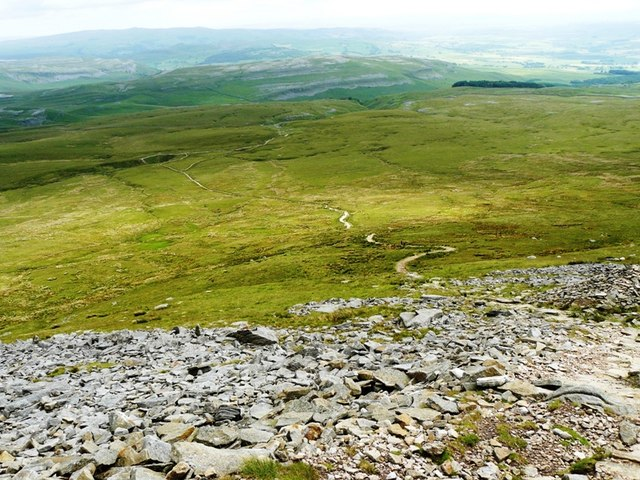 View from almost Little Ingleborough