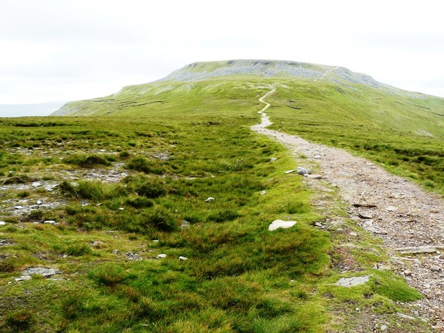 Path to the Summit of Ingleborough