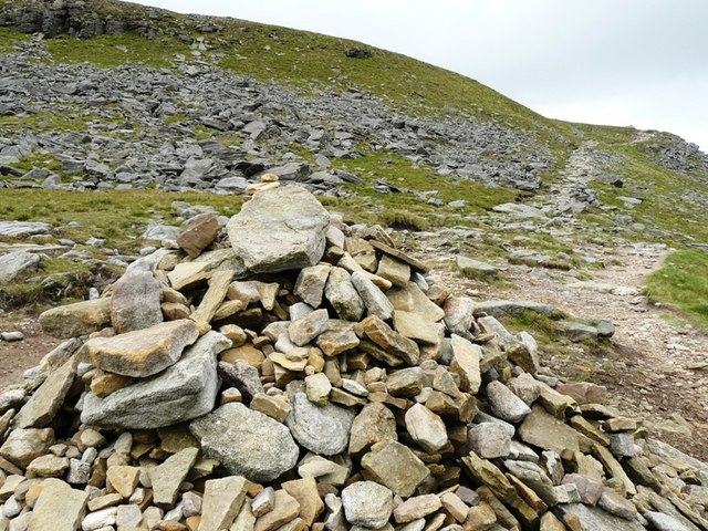 Almost at the Summit of Ingleborough