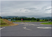 S4422 : Junction on the N24 near Piltown, Co.Kilkenny by Dylan Moore