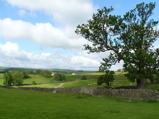 Above Giggleswick Village