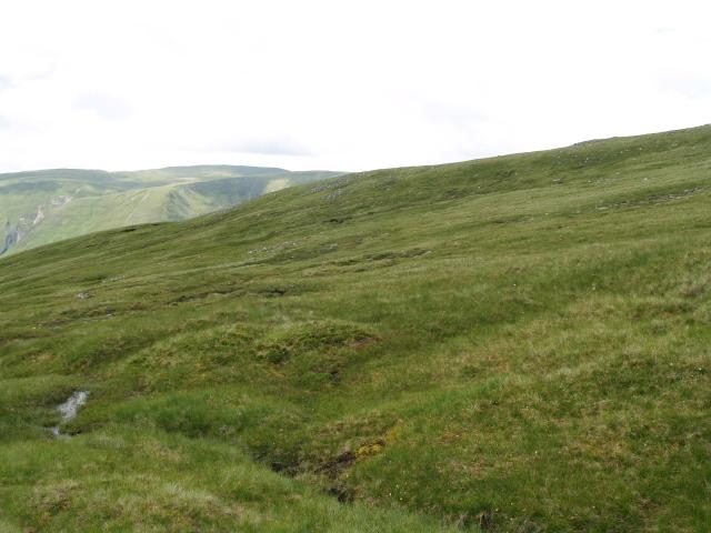 W ridge of Creag Dhubh Mhor
