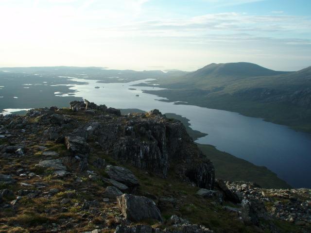 NW ridge, Meall Mheinnidh