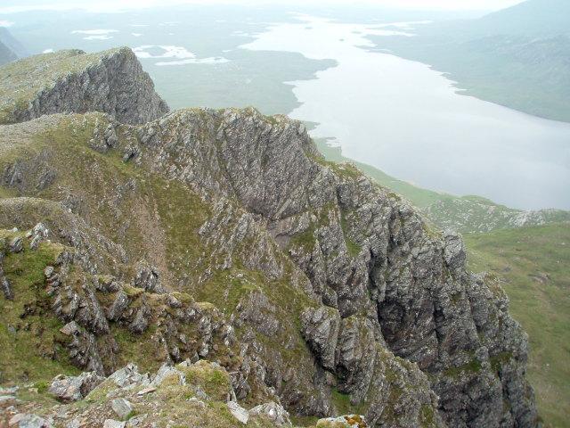 NW ridge, Beinn Lair