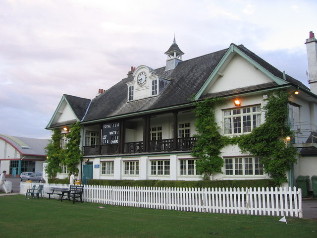 Cricket pavilion, Coombe Dingle sports complex