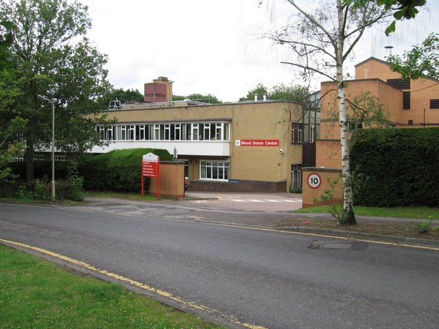 National Blood Service, Blood Donor Centre, Crescent Drive, Brentwood