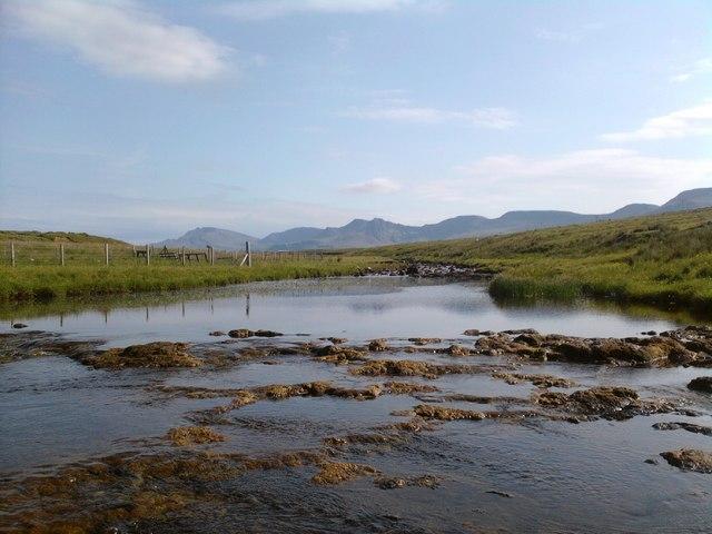 Looking upstream on Kilmartin River