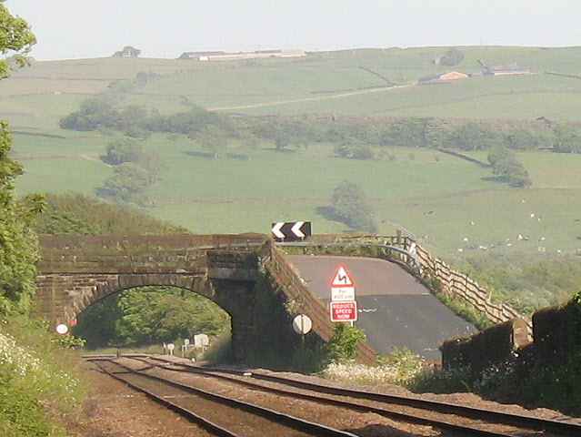 Broughton Road bridge over the railway