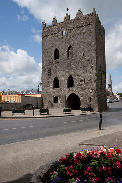 Castles of Munster: Kilmallock, Limerick (King John's Castle)