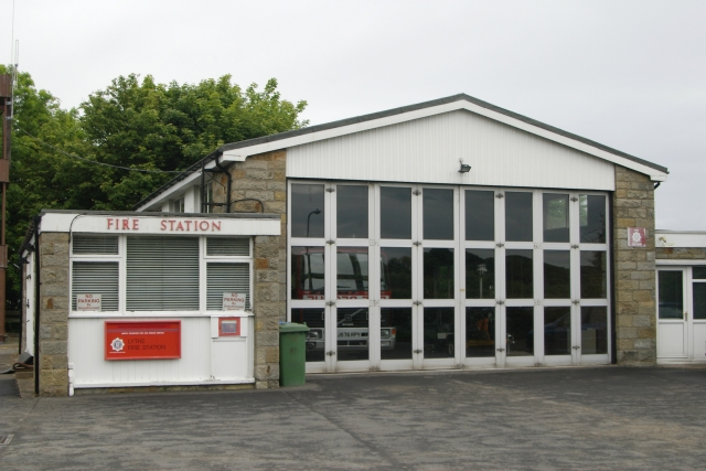 Lythe fire station