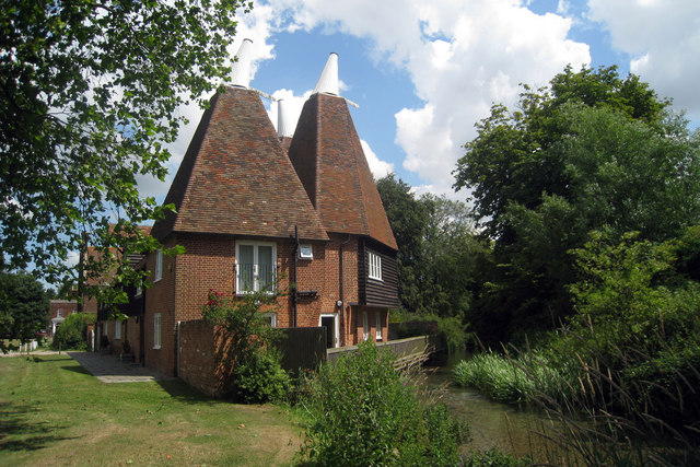 Oast House, The Green, Littlebourne, Kent