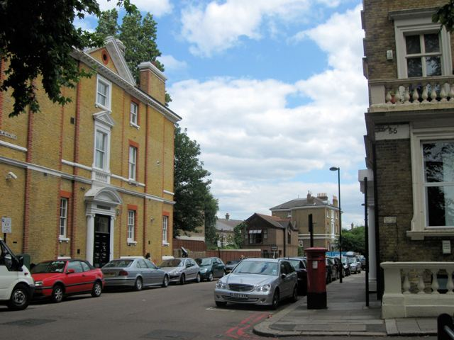 Start of Elm Road, Clapham