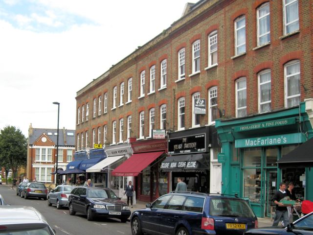 Shops in Abbeyville Road, Clapham