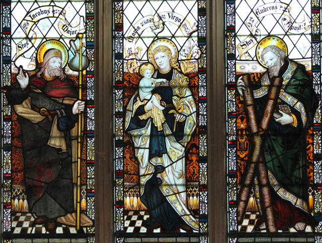 All Saints Church Stained Glass By 169 Evelyn Simak