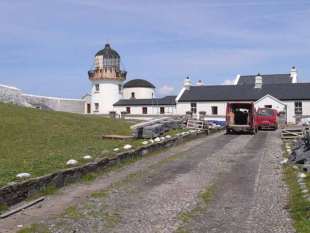 Lighthouse on Clare Island