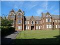 NS2575 : Admin Building Ravenscraig Hospital Greenock by John Ferguson