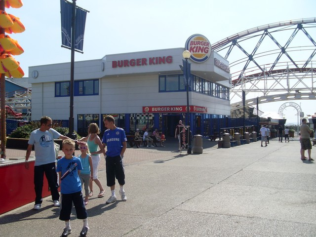 Due Blackpool pleasure beach food