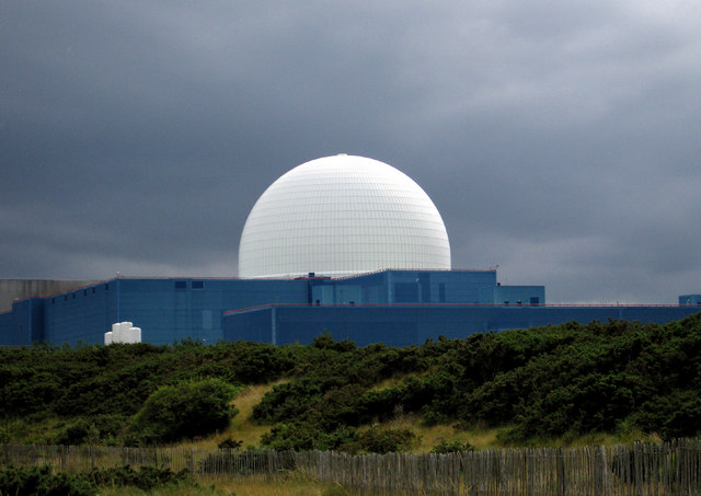 Sizewell B reactor dome