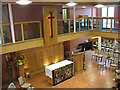 TQ3075 : St Matthew's church, Brixton - worship area by Stephen Craven