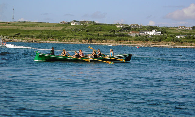 Scilly Racing Gig at Porthloo