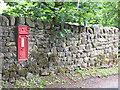 SD9752 : Victorian postbox in Stirton by Stephen Craven