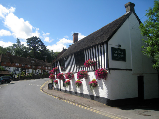 The George &amp; Dragon, The Street, Ightham