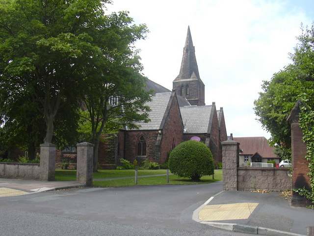 St James C Of E Church,  26 Lulworth Road, Birkdale, Southport
