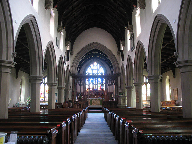 St Andrew's church, Gargrave: interior