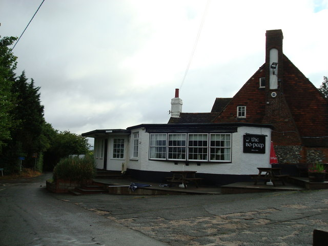 The Bo Peep public house, Well Hill