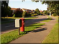 SZ0294 : Canford Heath: postbox № BH17 16, Culliford Crescent by Chris Downer