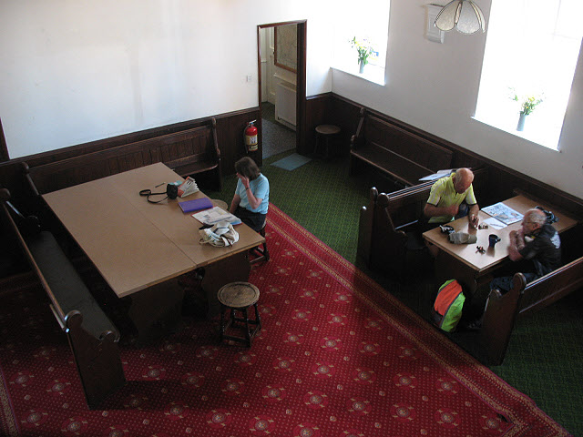 Interior of Kirkby Stephen youth hostel (2)