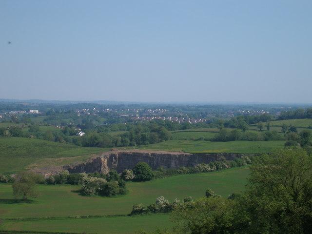 Quarry at Magheradunbar