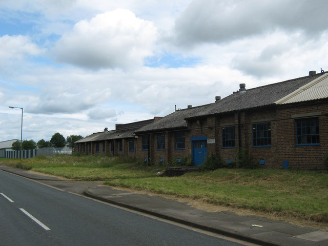 Former WW2 Royal Ordnance Factory building