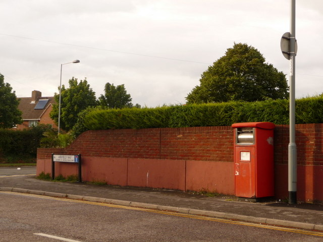 Somerford: postbox № BH23 509, Airfield Way