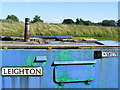 SP9213 : Grand Union Canal working boat moored near Lock 40 by David Sands