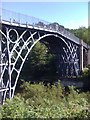 SJ6703 : Iron bridge at Ironbridge by Darrin Antrobus