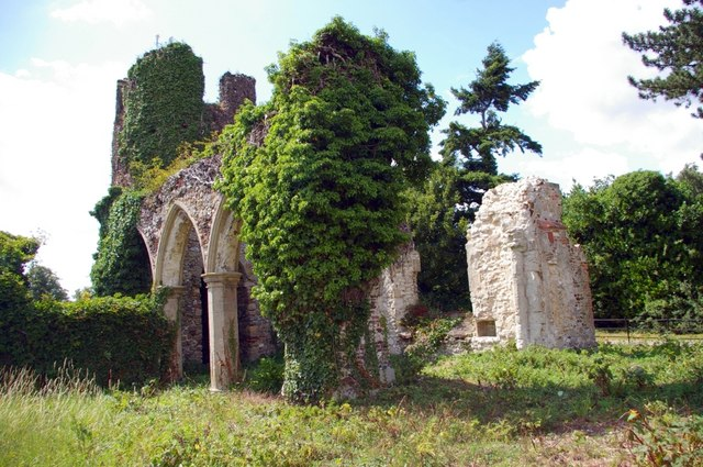 Ruins of St Mary's Church, Appleton