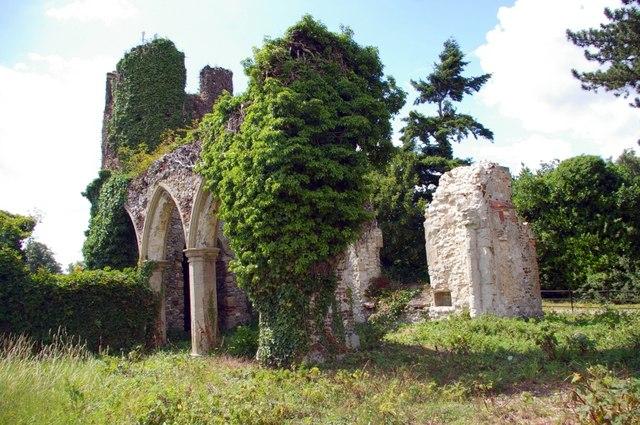 Ruins of St Mary's Church, Appleton