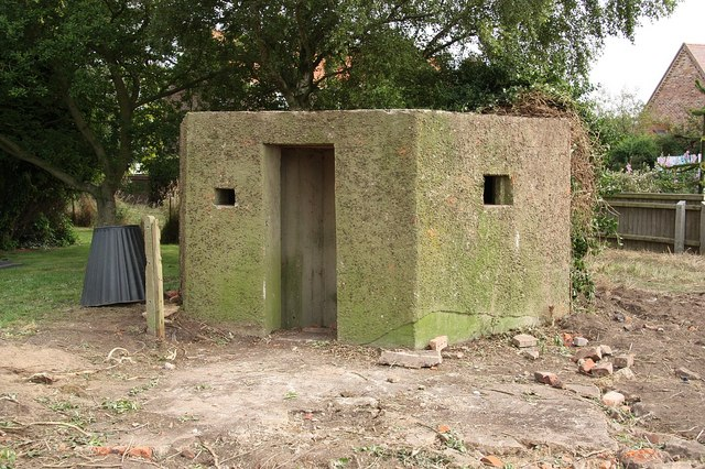 Churchyard pillbox